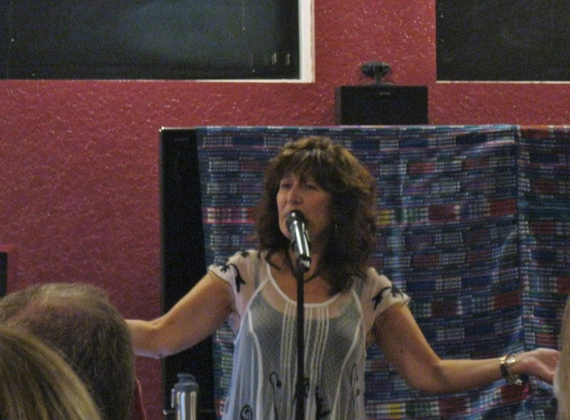 Teri Wilder Sings at Harmony Playground House Concert