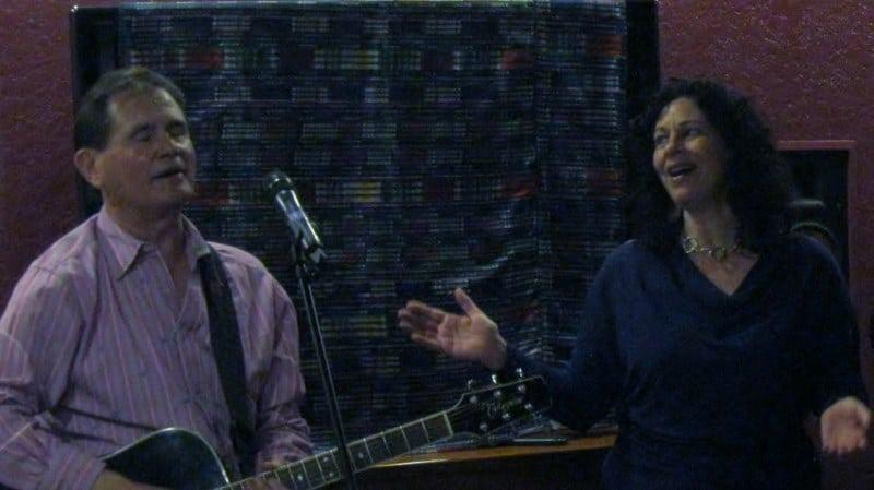 Harold Payne & Jacqueline Jax Silva at Harmony Playground House Concert